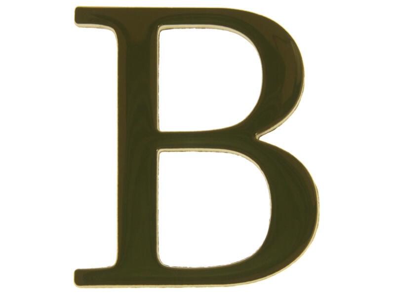 Yale Lettre B laiton 50mm