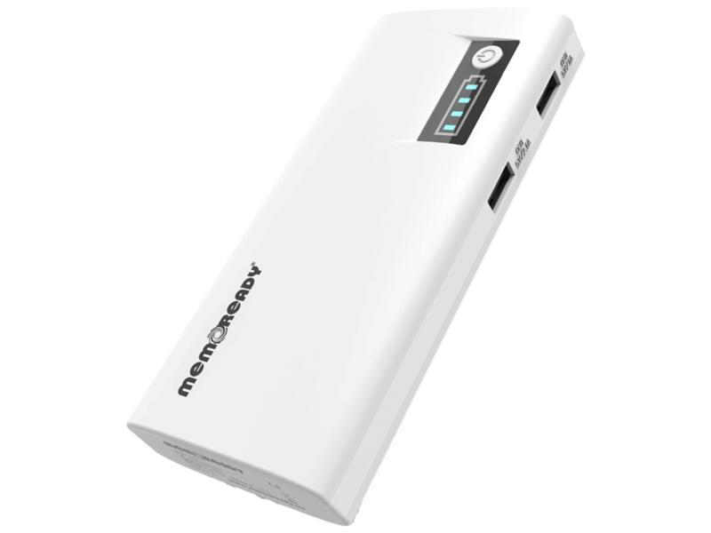 Memorex Liberta 8000 powerbank noir ou blanc