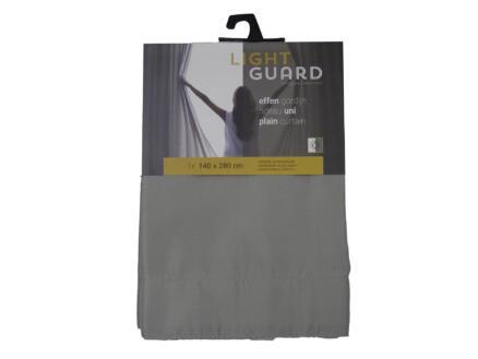 Finesse Light Guard gordijn 140x280 cm haak flint
