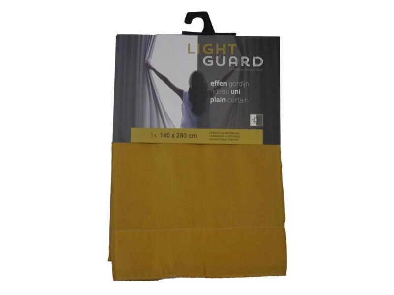 Finesse Light Guard gordijn 140x280 cm haak honey gold