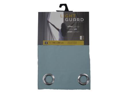 Finesse Light Guard gordijn 140x280 cm ring cloud blue
