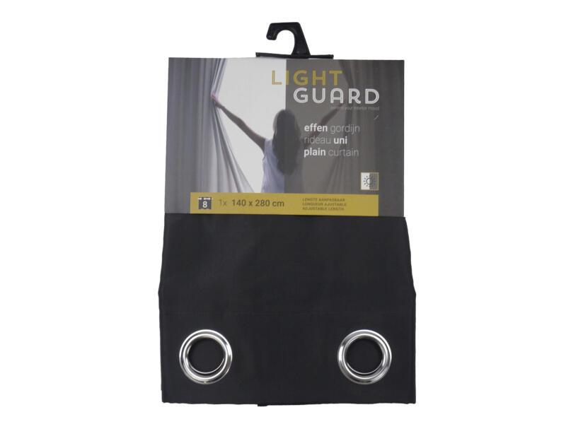 Finesse Light Guard gordijn 140x280 cm ring iron