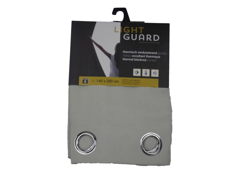 Finesse Light Guard rideau thermique occultant 140x280 cm œillet cream