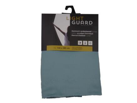 Finesse Light Guard thermisch gordijn verduisterend 140x280 cm haak cloud blue