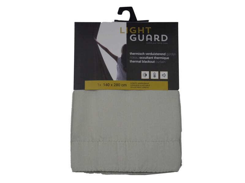 Finesse Light Guard thermisch gordijn verduisterend 140x280 cm haak cream