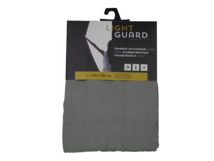 Finesse Light Guard thermisch gordijn verduisterend 140x280 cm haak flint