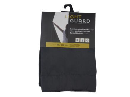 Finesse Light Guard thermisch gordijn verduisterend 140x280 cm haak iron