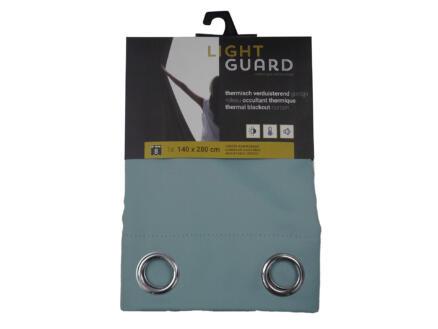 Finesse Light Guard thermisch gordijn verduisterend 140x280 cm ring cloud blue