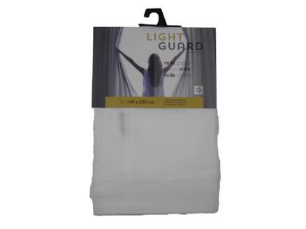 Finesse Light Guard voilage fenêtre 140x280 cm crochet snow