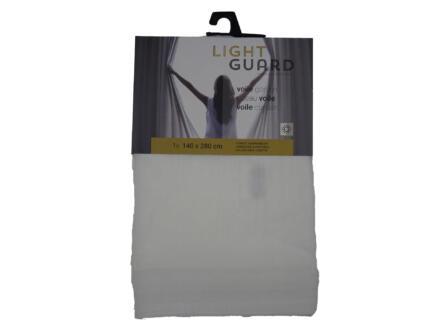 Finesse Light Guard voile gordijn 140x280 cm haak cream