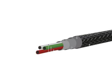 Celly Lightning micro-USB kabel 1m zwart