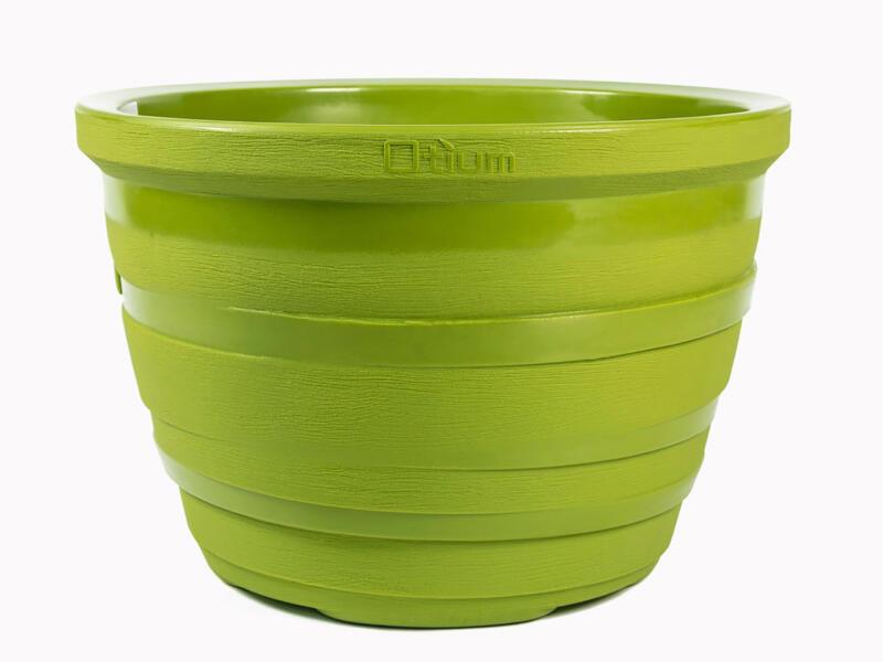 Lignum 55 pot à fleurs 81cm citron vert