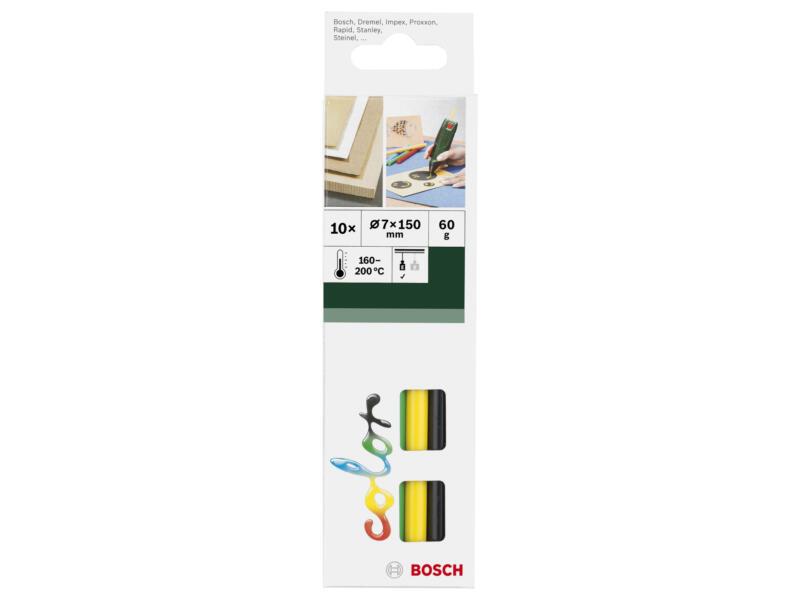Bosch Lijmsticks 7mm ultracolor 10 stuks