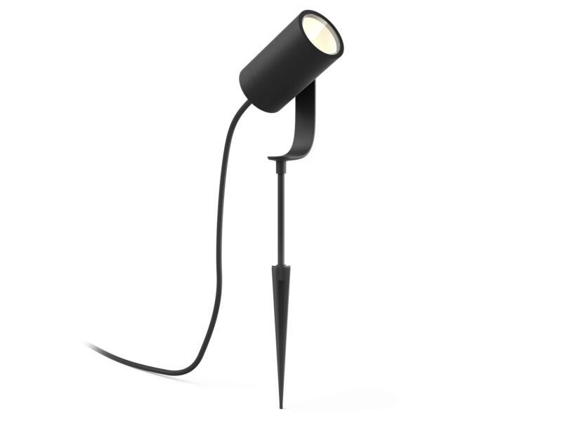 Philips Hue Lily spot LED extérieur à poser 3x8 W noir