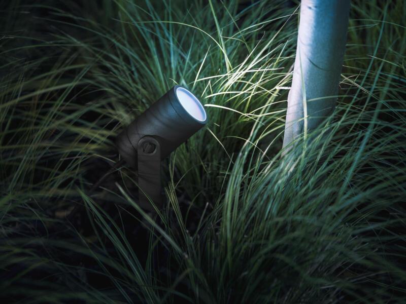 Philips Hue Lily spot LED extérieur à poser 8W noir