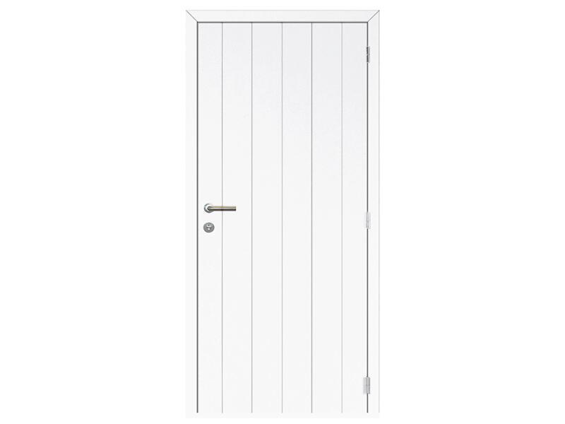 Solid Linee Country binnendeur 201x63 cm wit