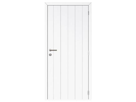 Solid Linee Country binnendeur 201x88 cm wit