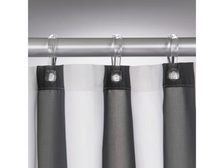 Sealskin Linje rideau de douche 180x200 cm gris
