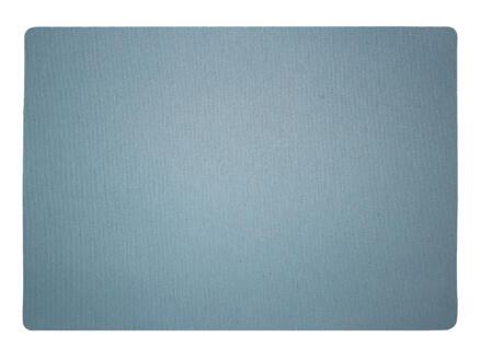 Finesse Lino placemat 43x30 cm hemelsblauw