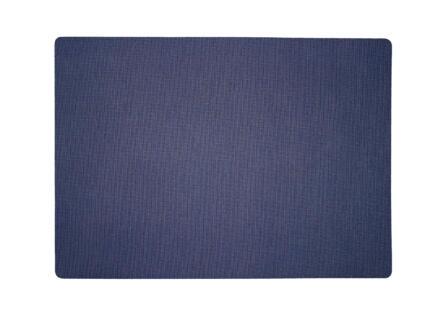Finesse Lino set de table 43x30 cm bleu marine