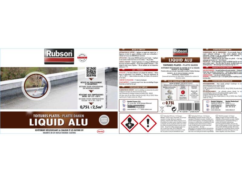 Rubson Liquid aluminium 0,75l