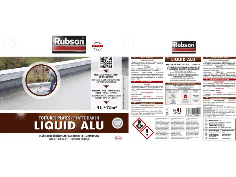 Rubson Liquid aluminium 4l