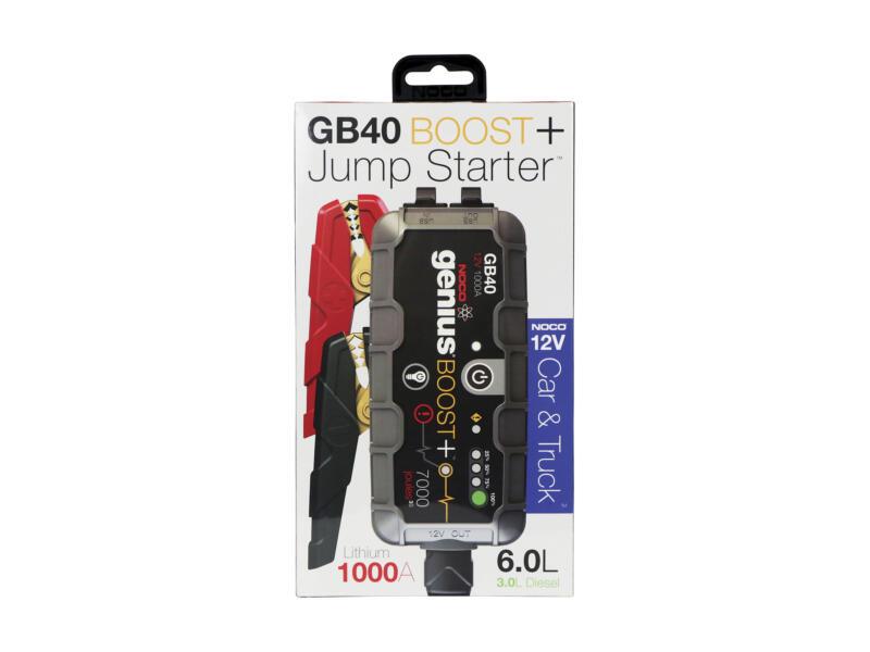 Lithium Plus GB40 jumpstarter 1000A