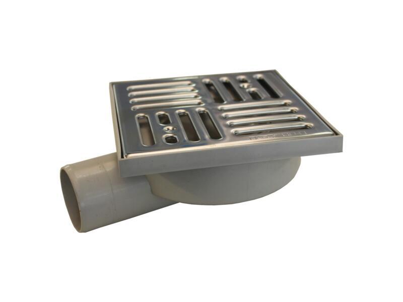 Scala Lock siphon de cour 15x15 cm 50mm PVC