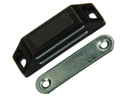 Mack Loqueteau magnétique brun 60mm 2 pièces