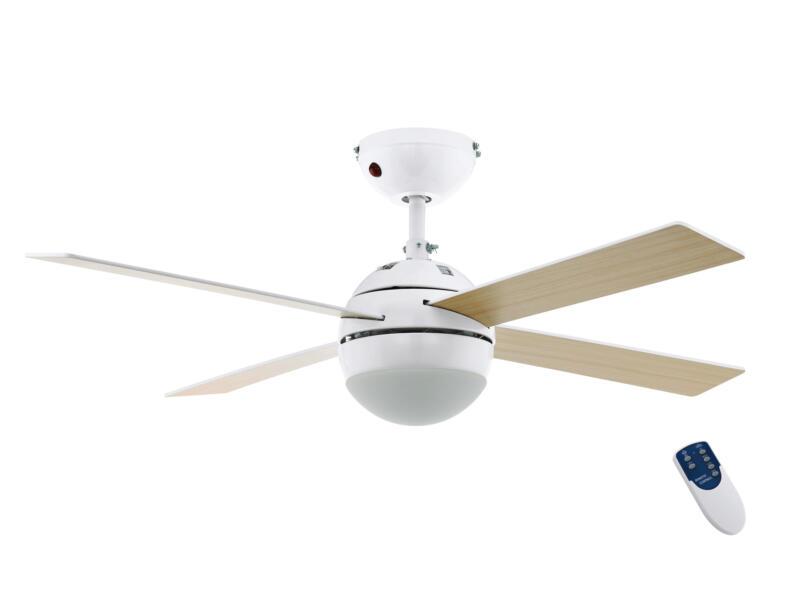 Eglo Losciale ventilateur de plafond 60W avec lampe