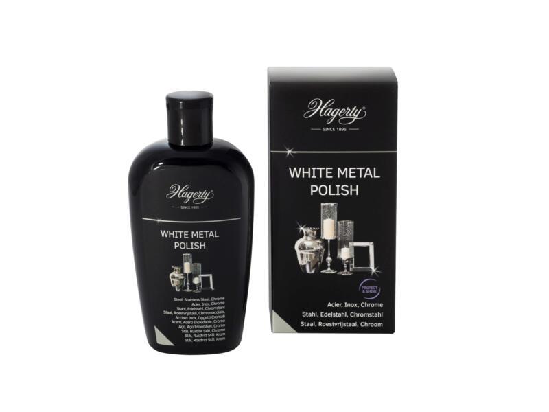 Lotion nettoyante acier et chrome 250ml