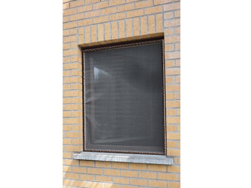 Confortex Louisiana moustiquaire de fenêtre 100x120 cm brun