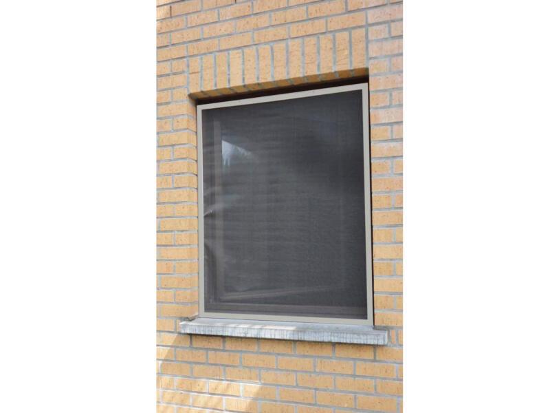 Confortex Louisiana moustiquaire de fenêtre 100x120 cm gris