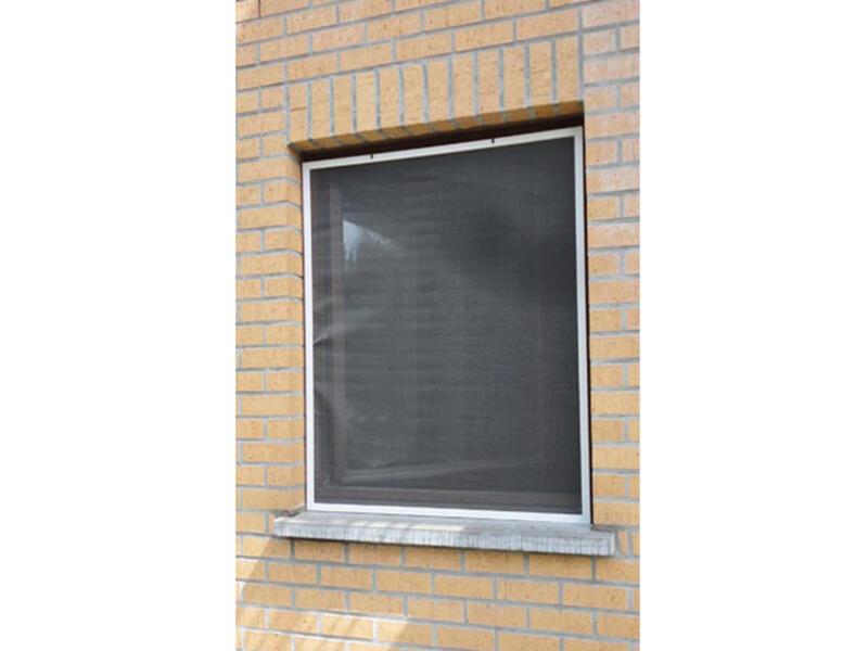 Confortex Louisiana moustiquaire de fenêtre 120x150 cm blanc