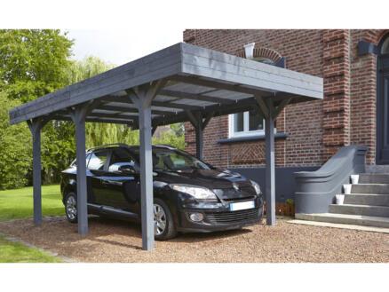 Louison carport 304x518 cm bois gris