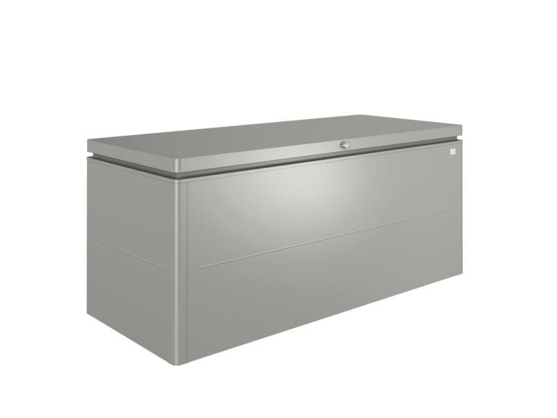 Biohort LoungeBox 200 coffre de jardin 200x84x88,5 cm gris quartz métallique
