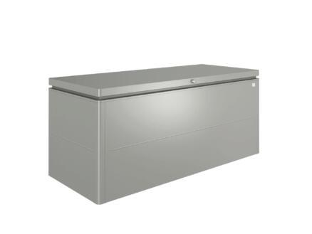 Biohort LoungeBox 200 kussenbox 200x84x88,5 cm kwartsgrijs metallic