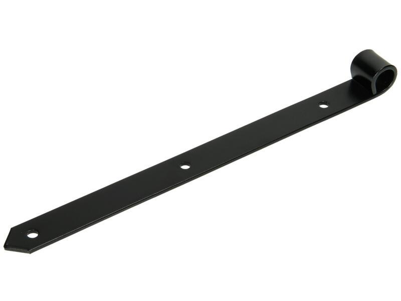 Sam Luikscharnier 35cm zwart