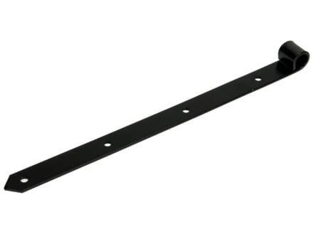 Sam Luikscharnier 40cm zwart
