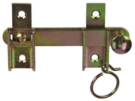 Luiksluiting 13cm bichromaat