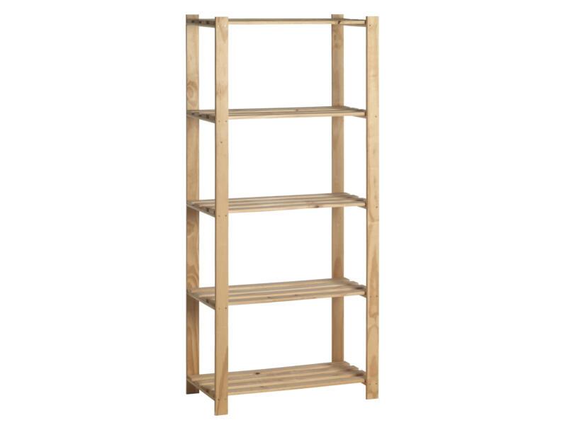 Practo Home Luxe étagère 175x80x40 cm bois