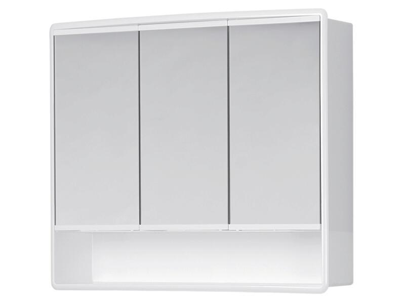 Jokey Lymo armoire de toilette 58cm 3 portes blanc