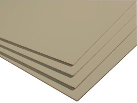 MDF plaat 244x122 cm 2,5mm bruin