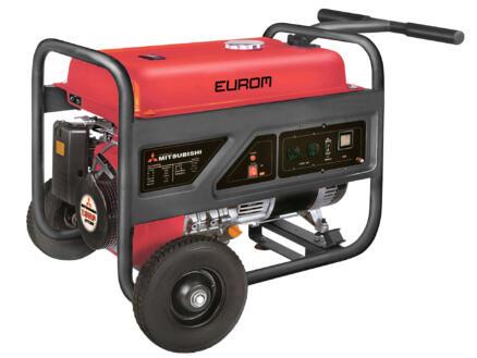 Eurom MM6500 générateur 5500W 27l