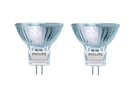 Philips MR11 halogeenspot GU4 20W 2 stuks