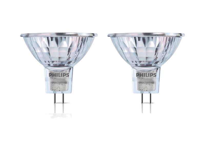 Philips MR16 halogeenspot GU5,3 35W 2 stuks