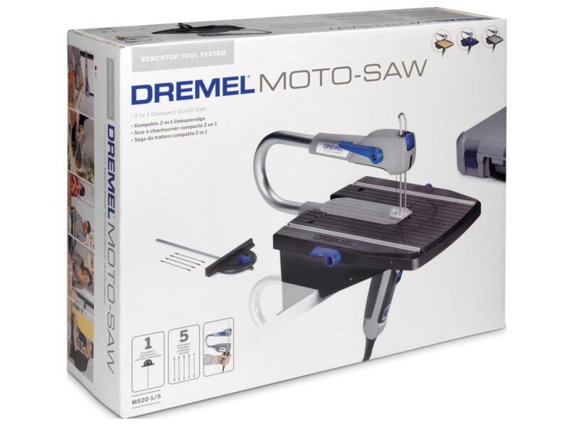 Dremel MS20JA Moto-Saw scie sauteuse 70W + 6 accessoires