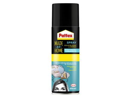 Pattex Made at Home lijmspray corrigeerbaar 400ml transparant