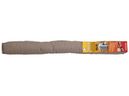 Confortex Magneto boudin de porte 80cm 6,5cm taupe