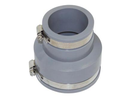 Scala Manchon réduit 90/75 mm - 63/50 mm caoutchouc gris